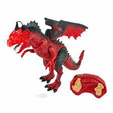 Игрушка <b>интерактивный</b> Пламенный дракон на ик <b>пульт</b> свет ...