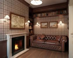 Living Room With Chesterfield Sofa Living Room Traditional Interior Design Ideas Living Room