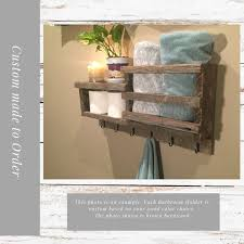 bathroom wall organizer to holds towels