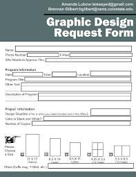 Design Request Form Template Under Fontanacountryinn Com