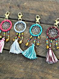 Beaded Dream Catchers Patterns Artisan Crafted Bead Dreamcatcher Keychain Artisan Beads and Craft 51