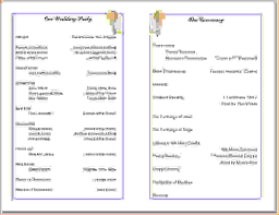 Church Program Template Church Bulletin Template Gallery Church Program Templates Free Best