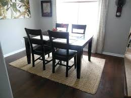 area rug under dining table square area rug under a square dining room table should i area rug under dining