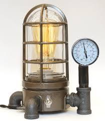 steampunk lighting. Vintage Industrial Explosion Proof Desk Lamp Steampunk Light #42 Lighting