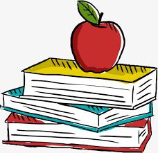 apple cartoon books cartoon clipart cartoon book png and vector