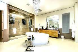 bathroom chandelier lighting ideas gorgeous bathroom crystal