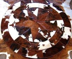 western star rugs cowhide round with longhorns rug texas lone kitchen