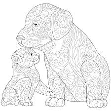 Coloring Pages Dogs Printable Fashionadvisorinfo