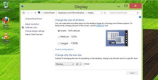 how to change text size change font size of window titles in windows 8