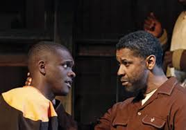 fences play cory. Delighful Cory Chris Chalk As Cory And Denzel Washington Troy For Fences Play