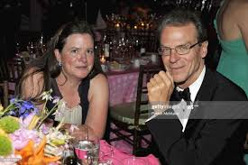 Liz Hilpman and Byron Tucker attend THE CONSERVATORY BALL at The New...  News Photo - Getty Images