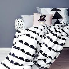 black white bedding living half moon single bedding black and white cot bedding uk black white black white bedding