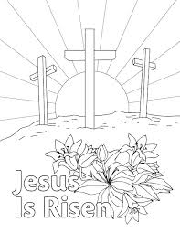 Easter Color Page Printable Religious Coloring Pages Easter Color