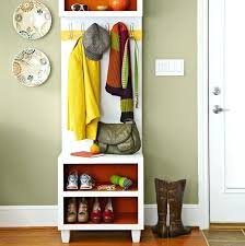 Entryway Bench And Coat Rack Plans Classy Entryway Bench With Shoe Storage Plans Coat Racks Entryway Bench