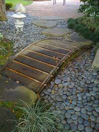 Small Picture dry creek beds Small Decorative Bridges Enhance the Beauty of