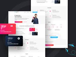 Startup Landing Page Template Free Psd Template Psd Repo