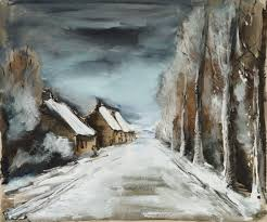 maurice de vlaminck paysage d hiver 1935 auction 1099 modern art