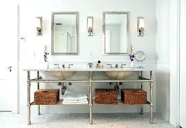 brushed nickel bathroom lights home depot wall sconce pendant lighting light fixtures stunning sconces bath