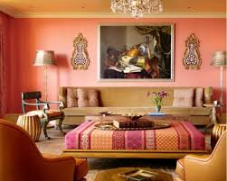 Show warm colors go well together Orange Interior Design - fresh, bright  ideas