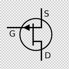 Jfet Electronic Symbol Field Effect Transistor Mosfet