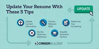 Update These 40 Items On Your Resume CareerBuilder Extraordinary How To Update Resume