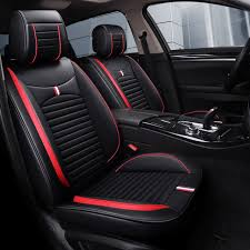leather car seat covers auto cushion mats car accessories for land rover discovery 3 4 land