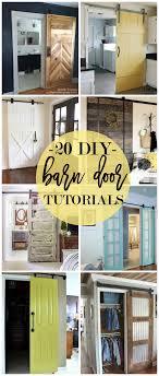 Barn Door In Kitchen 20 Diy Barn Door Tutorials