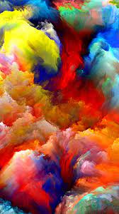 Oil Painting Colorful Strokes iPhone 6 ...