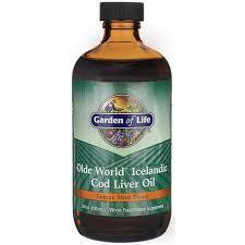 garden of lifeolde world icelandic cod liver oil lemon mint