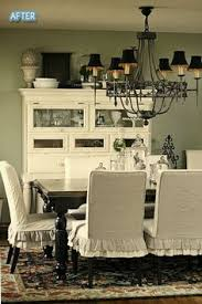 ruffled slipcover for parsons chairs find this pin and more on painted dining