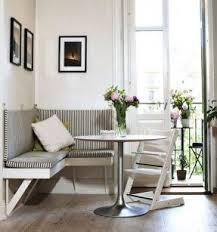Corner bench seating with storage