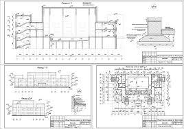 Курсовые и дипломные проекты общественное здание скачать dwg  Курсовой проект Бассейн 48 х 27 м в г