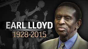 Earl Lloyd,Lloyd,nba,CIAA,West Virginia,hall of fame