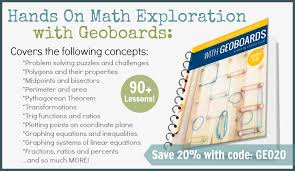 explorations with geoboards ad