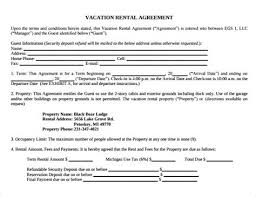 Short Term Lease Agreement Template - Costumepartyrun