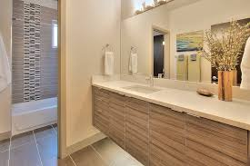 undermount rectangular bathroom sink modern full bathroom with tiled wall showerbath slate tile