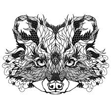 эскиз татуировки енот 45625 тату салон дом элит тату