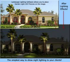 outdoor lighting effects. Garden Light LED Partners With Landscape Lighting Software For Outdoor Design. \ Effects U