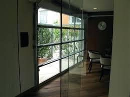 glass garage doors restaurant. Clear Garage Door Glass Doors . Restaurant