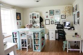 office craft ideas. Home Office Craft Room Design Ideas F
