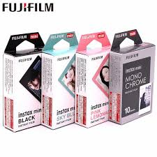 <b>Original Fujifilm 10 sheets</b> Stars STRIPE TSUM Black frame Minion ...
