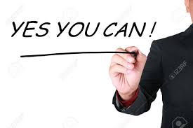 Yes You Can Business Motivational Inspirational Quotes Words