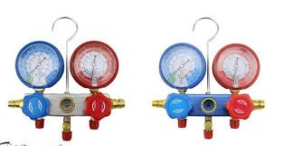 air conditioning pressure gauges. air conditioning refrigerant pressure gauge ac diagnostic tools r134a ac manifold set mst gauges
