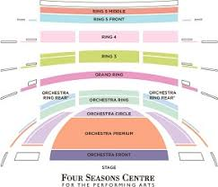 Four Seasons Centre Performing Arts Toronto Seating Chart Cheap Tickets At The Coc Operaramblings