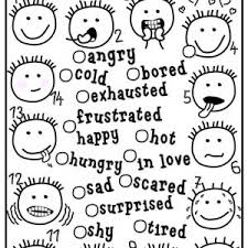 Small Picture feelings faces printable library pinterest feelings and face