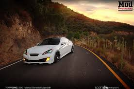 best mods for the hyundai genesis 2 0l turbo 3 8l v6 hyundai genesis coupe w forgestar f14 wheels front 19x9 rear 19x10