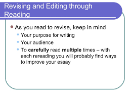 elements of an effective essay  revision through collaboration 28