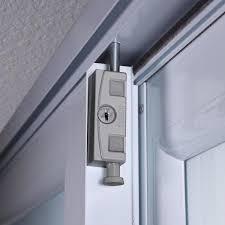toledo patio door silver security bolt
