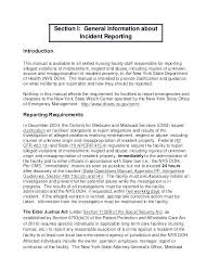 Sample Of Incident Report Format Incident Report Letter Template