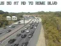 Us 50 Crash Slowed Traffic Near Rowe Boulevard Annapolis